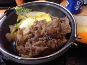 吉野家牛すき鍋膳2