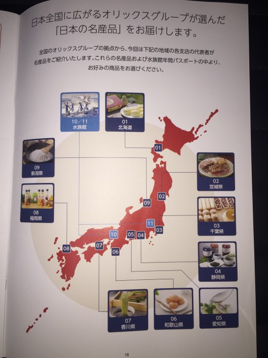 オリックス 株主優待 2015 1