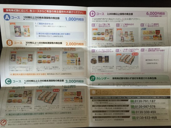 日本たばこ産業 JT 1