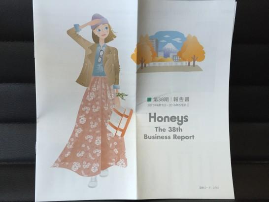 ハニーズ 株主優待 2016年 5