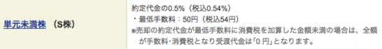 S株 手数料