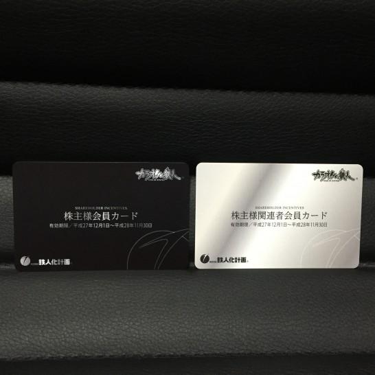 鉄人か計画 株主優待 2015年 2