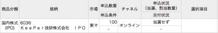 三菱UFJモルガンスタンレー KeePer技研