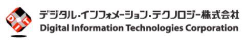 IPO デジタルインフォメーションテクノロジー ロゴ