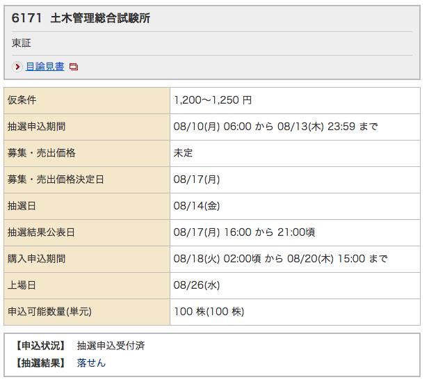 土木管理総合試験所 野村 落選