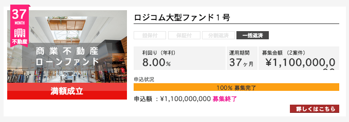 LCレンディグ 8%案件8%