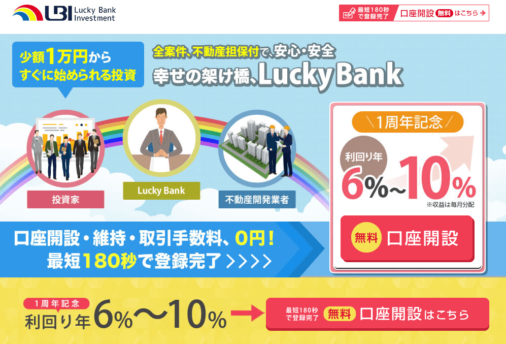 ラッキーバンク 申し込み方法1
