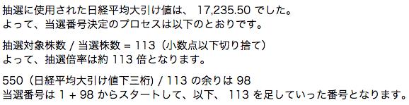 楽天証券 JR九州 抽選倍率