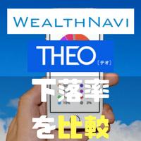 息してる?? WealthNaviとTHEOが株安でどのくらいの影響がでているのか比較してみました。